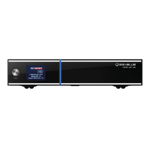 Gigablue UE UHD 4K 1x DVB-C FBC 1x DVB-C/T2 Dual Tuner E2 Linux Receiver PVR ...