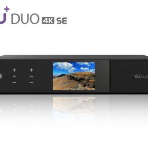 VU+ Duo 4K SE 2x DVB-C FBC Tuner PVR ready Linux Receiver UHD 2160p