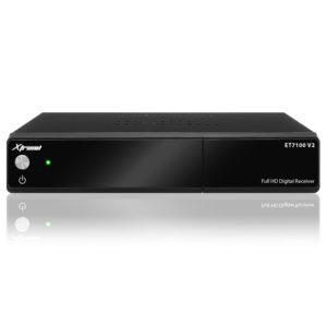 Xtrend ET 7100 V2 HD 1x DVB-C/T2 Tuner H.265 Linux Full HD 1080p HbbTV Receiver