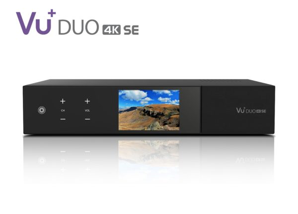 VU+ Duo 4K SE 1x DVB-C FBC / 1x DVB-T2 Dual Tuner PVR ready Linux Receiver UH...