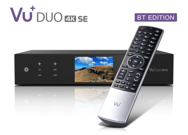 VU+ Duo 4K SE BT 1x DVB-C FBC / 1x DVB-T2 Dual Tuner PVR ready Linux Receiver...