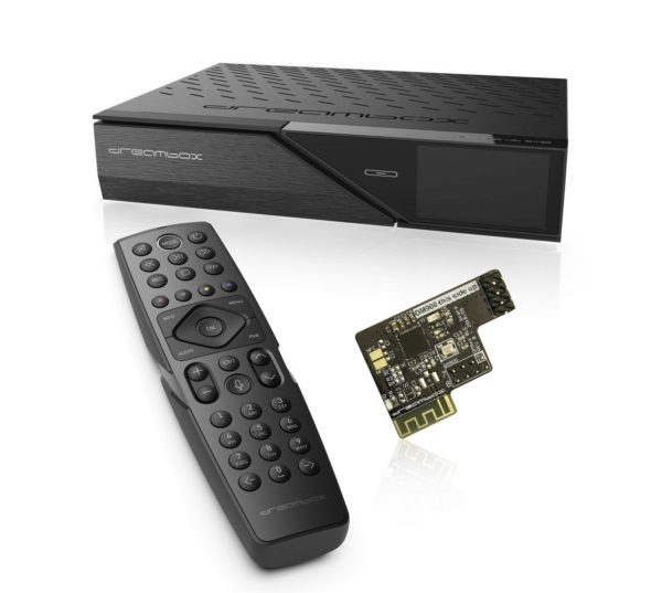 Dreambox DM900 BT UHD 4K 1x DVB-C FBC Tuner E2 Linux PVR Receiver