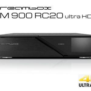 Dreambox DM900 RC20 UHD 4K 1x DVB-C FBC Tuner 1 TB HDD E2 Linux PVR Receiver